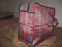 Хозяйственая сумка тканева красна
