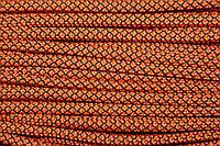 Шнур 6мм с наполнителем (100м) оранжевый+черный, фото 1