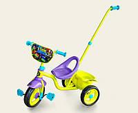 Велосипед 3-х колесный tnt0102 с ручкой, колеса eva