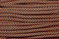 Шнур 6мм с наполнителем (100м) черный+оранжевый, фото 1