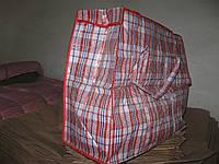 Хозяйственная сумка квадратная с лаковым покрытием