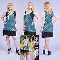 Женское летнее платье Турция. MODY 20017 Big Size. Размер 52-54.