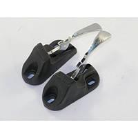 Защелки заднего сидения (ручки) Ваз 2102-2121 хром (к-кт 2шт) ДААЗ