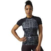 Компрессионная футболка Reebok CrossFit Paddle URBAN PLUM F14-R BS1844 - 2017/2