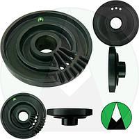 Диск аппарата вязального правый с тормозом пресс подборщика Claas Quadrant 2100 RC | 855711 CLAAS