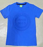 Модная  футболка для мальчика HUGO BOSS 110-128