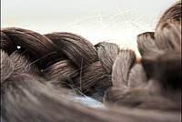 Славянские темные волосы на кератиновой капсуле
