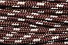 Шнур 10мм (100м) коричневый (шоколад) + св. беж