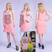Женское летнее платье Турция. MODY 20066 Big Size. Размер 48-50.