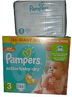 Подгузники Pampers Active Baby-Dry Midi 3 (5-9 кг) 42 шт.
