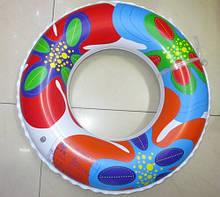 Круг надувной 80см Цветной