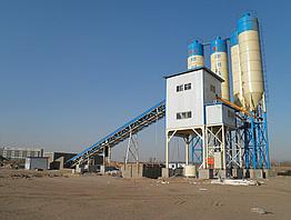 Бетонний завод HZS90