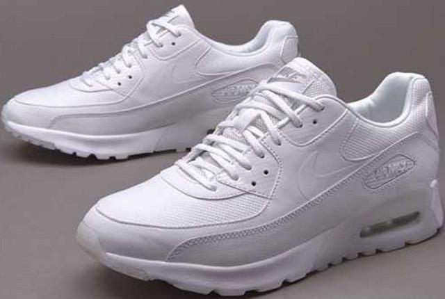 daf7b4296e75 Nike Air Max 90 Premium White Metallic Silver прекрасный вариант для  повседневной носки