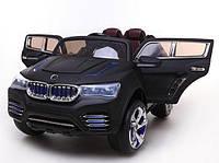 """Электромобиль """"джип"""" j-040, цвет черный, на радиоуправлении, аккумулятор 12v10ah*1, 35w*2, в коробке: 125х86х62 см"""
