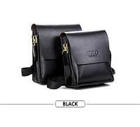 Мужская сумка Polo Videng 21*23*7 черный цвет черный