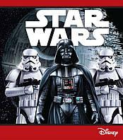 """Зошит """"Серія Star Wars"""" А-5 скоба, 48 арк., офсет, лінія 4 видов /15/(Ц557017У)"""