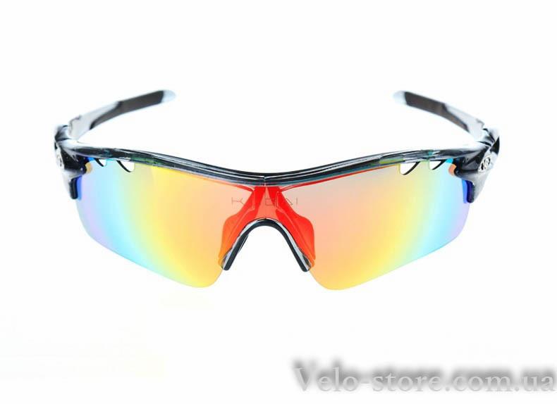 Спортивные очки CoolChange с 5 сменными линзами, 1 линза с поляризацией