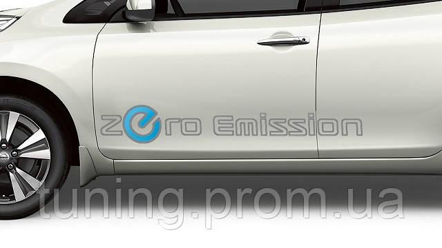 Наклейка Zero Emission  для Nissan Leaf 2011-2017