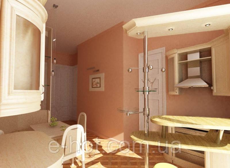 Дизайн-проект кухни, Кухня 11