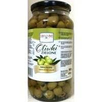 Оливки зеленые (без косточек) Helcom Oliwki 880 g