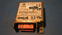 Блок управления AirBag 2.5TD Opel Omega B, 90492467