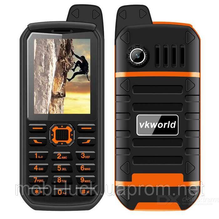 Противоударный телефон VKworld Stone V3 Plus  2 сим,2,4 дюйма,4000 мА/ч.