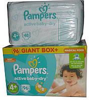 Подгузники Pampers Active Baby-Dry Midi 4+ (9-16 кг) Giant Box 48 шт.