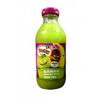 Сок натуральный  банан - яблоко - киви Dizzy Banan Jablko Kiwi 330 ml.
