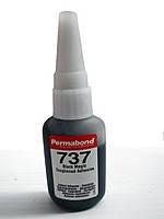 Цианакрилатный ударопрочный клей Permabond C737 (для металлов, шипов)