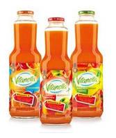 Vitanella морковно - яблочно - абрикосовый сок с мякотю 985 ml.