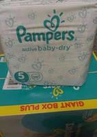 Подгузники Pampers Active Baby-Dry Midi 5 (11-18 кг) Giant Box 29 шт.