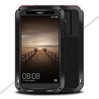 Чехол противоударный Love Mei Gorilla Glass для Huawei Mate 9 черный