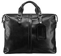 Портфель Blamont Bn004a кожаный Черный