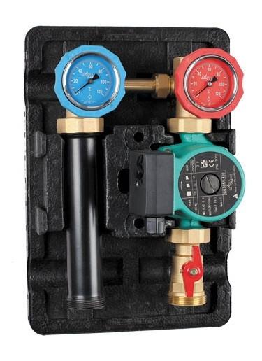 Насосно-смесительный блок Aqua World с насосом GRS25/6-130