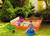 Детская игровая площадка (песочница + столик с лавочками), фото 1