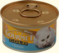 Консервы для котов Gourmet Gold (Гурмет Голд) мусс с тунцом (паштет) 85 гр