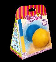 """Тесто для лепки """"Сделай сам"""" Темно-синий и Желтая дыня"""", в кор.16*13*7см ТМ TrueDough(20004)"""