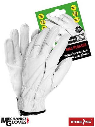 Кожаные перчатки спортивные REIS (RAW-POL) Польша RMC-PEGASUS W, фото 2