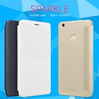 Кожаный чехол Nillkin Sparkle для Xiaomi Mi Max 2 (3 цвета)