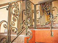Ковані перила для сходів і балкона Київ