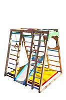 Игровой спортивный комплекс Лазейка бук Цветной