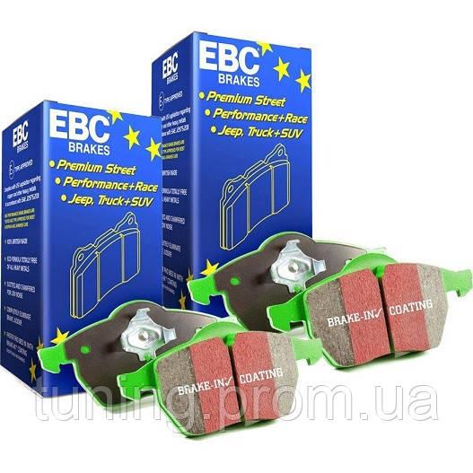 Тормозные колодки передние EBC Greenstuff для Nissan Leaf 2011-2017