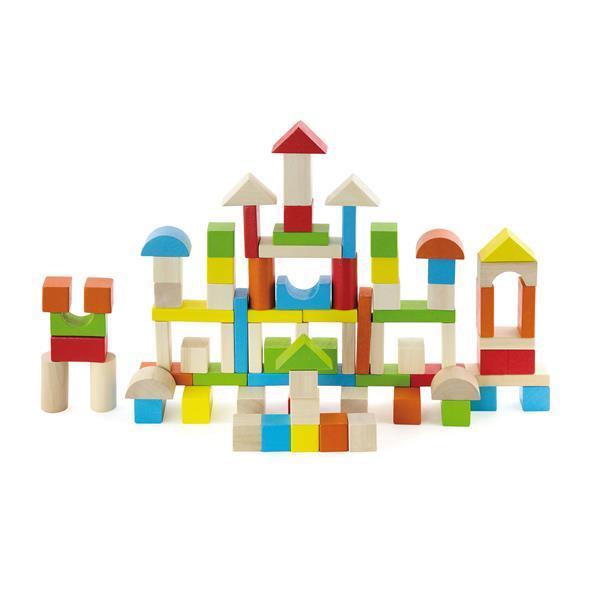 Набор строительных блоков Viga Toys Город 80 шт. 50333
