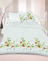 Комплект постельного белья двухспальный, сатин, 100% хлопок
