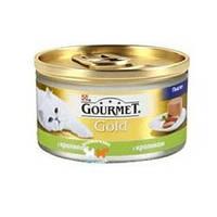 Консервы для котов Gourmet Gold (Гурмет Голд) паштет с кроликом 85 гр