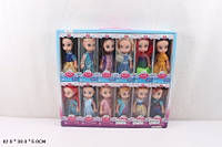 Кукла 18см 969-1 принцессы 12в.12шт в кор.42*5*38 ш.к./36/432/(969-1)