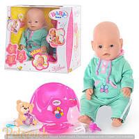 Детская кукла интерактивная пупс Baby Born BB 8001А