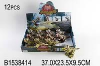 Динозавр (1538414) заводной 12 шт. в дисплей-боксе 37*23,5*9,5 см. /24/(SL5588S)