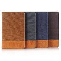 Чехол книжка с кожаными вставками на Samsung Galaxy Tab A 10.1 (4 вида)