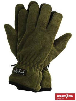 Защитные перчатки изготовленные из полара, утепленные вкладкой Thinsulate RTHINSULPOL O, фото 2